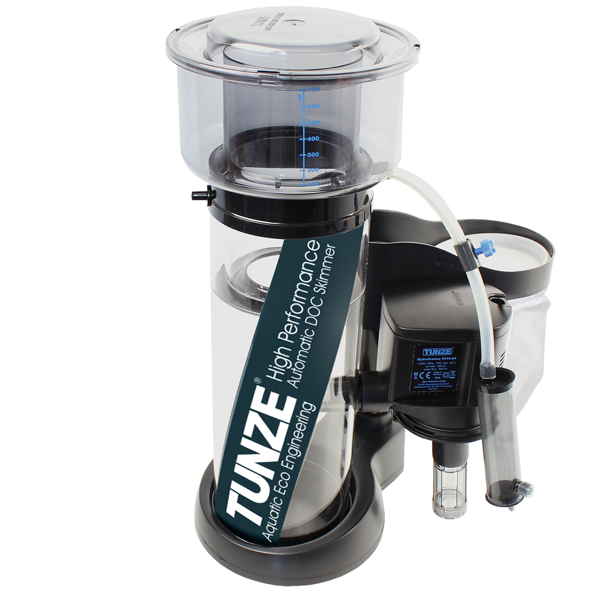 Tunze 9410 master doc skimmer rate up to 265 gallons ebay for Aquarium eau de mer