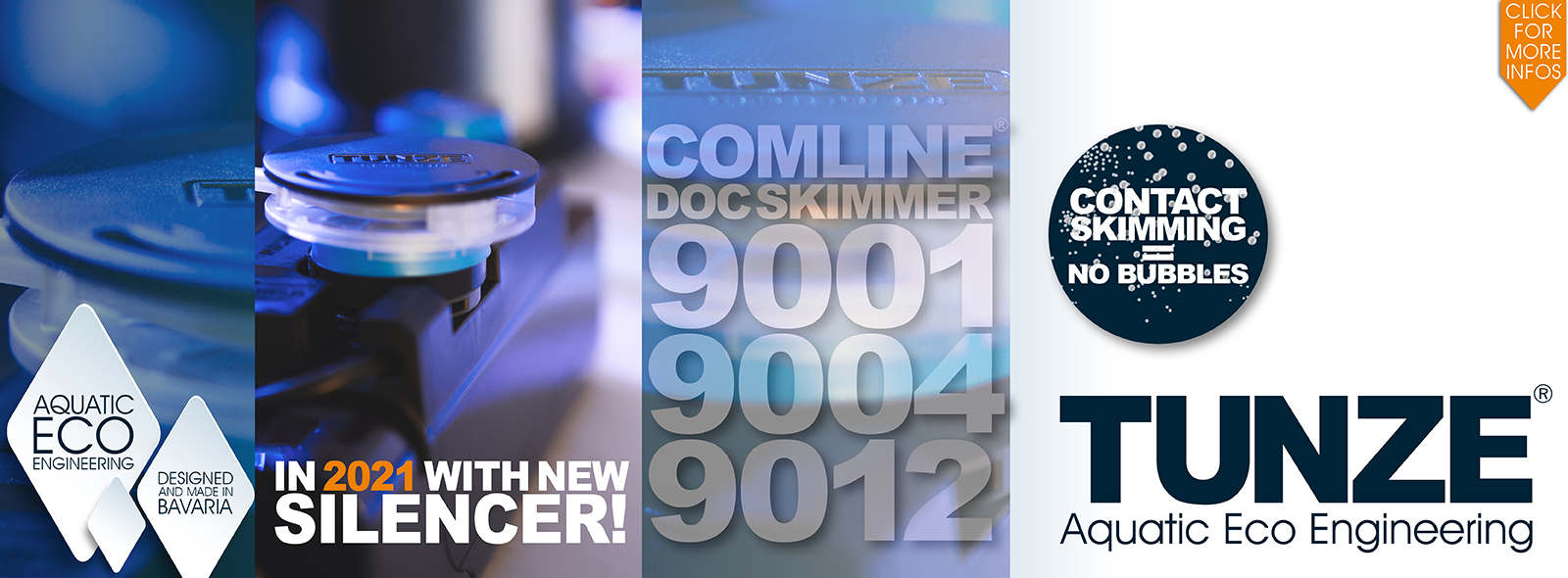 Comline® DOC Skimmer New Silencer