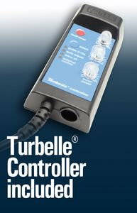 Electronically controllable synchronous motor pumps - Turbelle® controller included