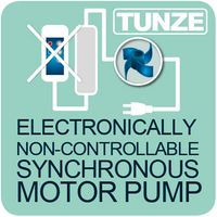 Pompes non réglables électroniquement à moteur synchrone