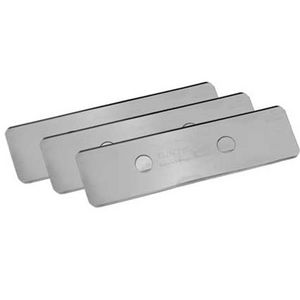 Stainless steel blades, 3 pcs.