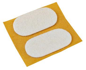 """Felt pads 38 x 19 mm (1.5"""" x .8""""), 2 pcs."""