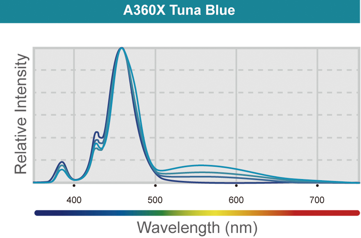 LED A360X Tuna Blue